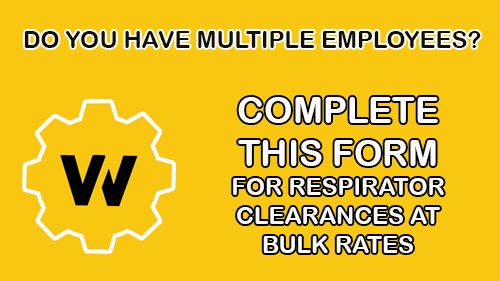Complete Your Respirator Clearance Form Online