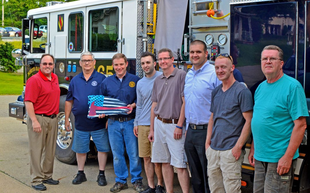 Pennsylvania fire department accepts award for NFPA 1582 compliance