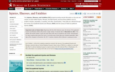 OSHA Fatality List Removed from Homepage