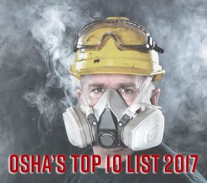 osha top Respiratory Protection violations list 2017