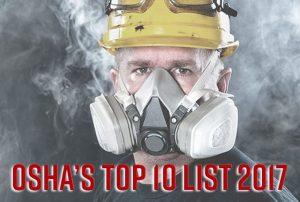 osha top ten violations 2017
