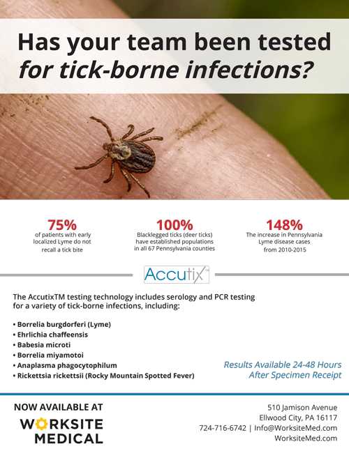 Insect bites - Ticks - Worksite Medical