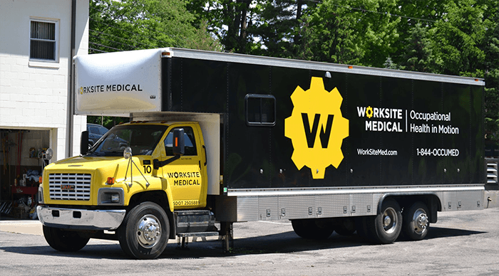 Worksite Medical Mobile Health Truck