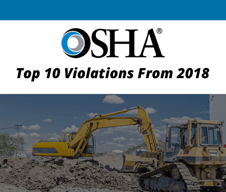 2018 OSHA Top 10 Violations List Released