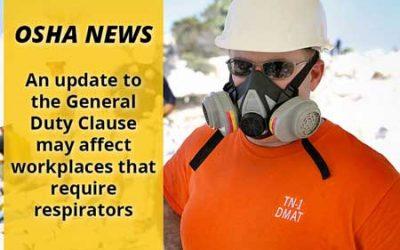 Respiratory Hazard Citations Updated Under General Duty Clause