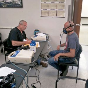 medical surveillance testing services - respirator fit testing