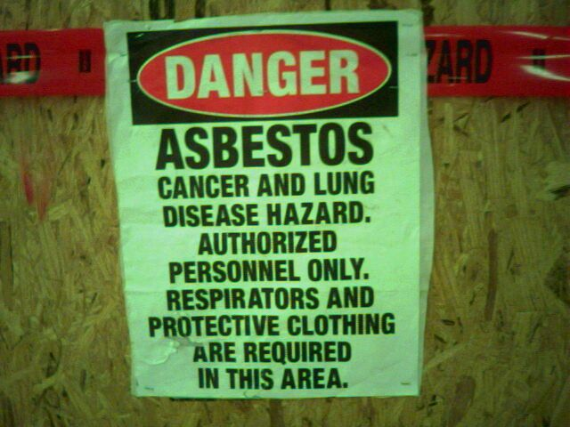 Contractor Fined for Workplace Asbestos Exposure