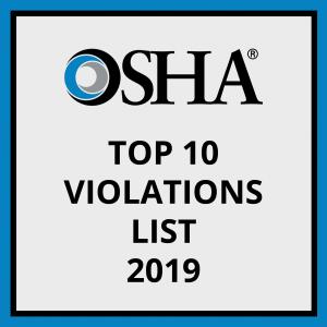 OSHA's Top 10 Violations for 2019