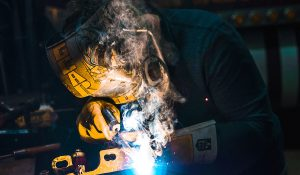 Worker Welding - PA company cited for hexavalent chromium exposure
