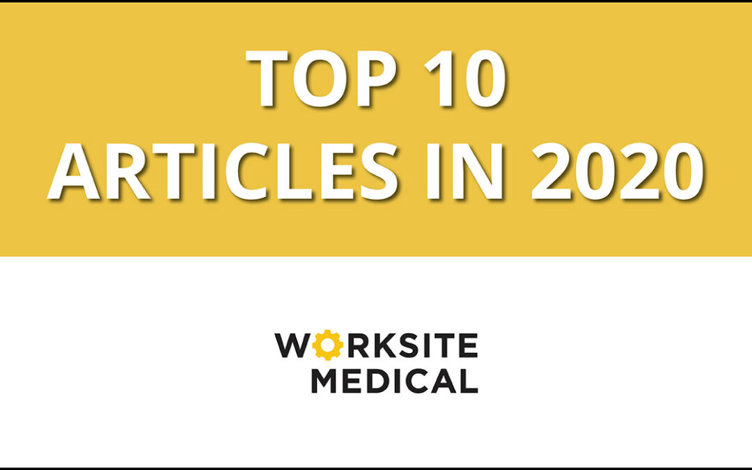 Top 10 Worksite EHS Articles for 2020