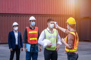 COVID-19 symptom screening on a job site - OSHA, MSHA