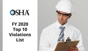 FY 2020 Top 10 violations list released by OSHA
