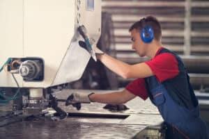 hearing conservation program - OSHA cites metal fabricator